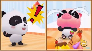 Baby Panda Games | Labyrinth Town | Babybus Games For Kids