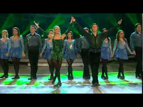Irish Dance Group - Irish Step Dancing (Riverdance) 2009 Riverdance Lead dancers are Nicola Byrne and Alan Kenefick.