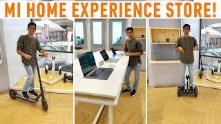 Official Mi Home Experience store visit! Using unreleased Xiaomi products!