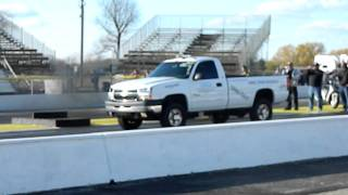 Chevy Duramax at Byron Diesel Drags