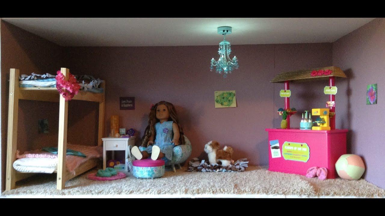 American Girl Kanani 39 S Bedroom Youtube