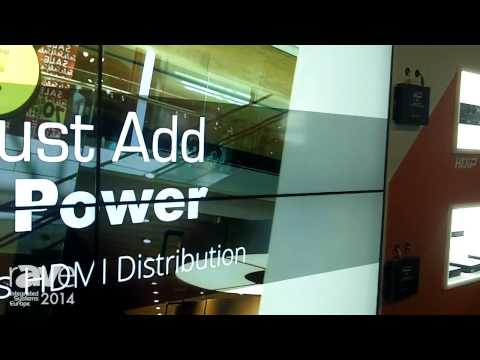 ISE 2014: HD Connectivity Features The Just Add Power Line