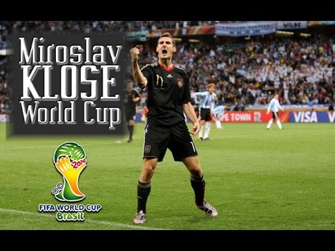 Miroslav Klose all World Cup Goals | Germany WR