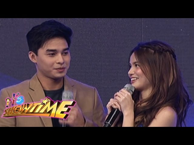 "It's Showtime: McLisse completes the ""Kung Magiging Tayo..."" sentence"