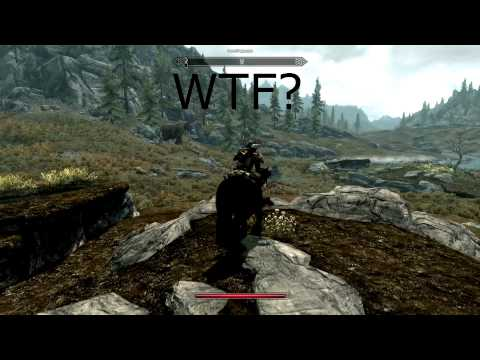 Skyrim Mammoth vs Dragon Skyrim Flying Mammoth Gets