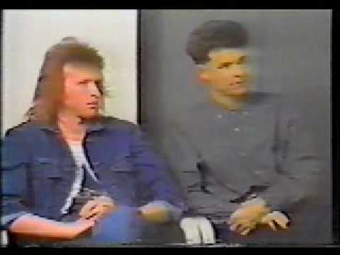 Big Country - Stuart Adamson and Bruce Watson interview 1988 - part 2