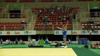 Rio de Janeiro - Test Event: Matteo Morandi / Corpo Libero (qualifiche)