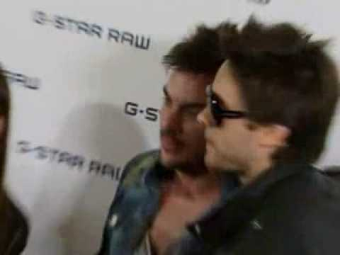 New York Fashion Week: red carpet celebrity at G-Star Raw S/S 2010 Video