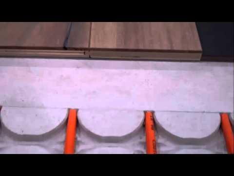 Vloerverwarming houten vloer  YouTube