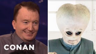 """Ken Hall & The """"People Of Earth"""" Aliens On Their Costume Woes  - CONAN on TBS"""