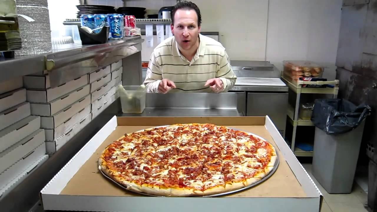 Man Vs Food Best Pizza