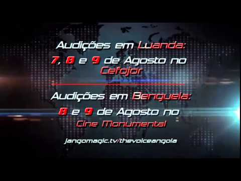 Vem ai The Voice Angola