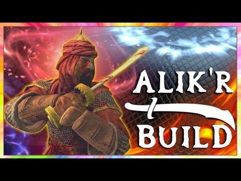 Skyrim SE Builds - The Alik'r Mercenary - Blood & Sand Modded Build