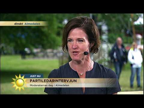 """Anna Kinberg Batra: """"Jag har en del kvar att visa"""" - Nyhetsmorgon (TV4)"""