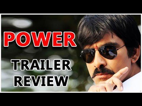 Power Official Trailer Review | Ravi Teja | Hansika Motwani