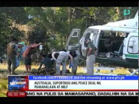 News@6: Australia, suportado ang peace deal ng pamahalaan at MILF || Jan. 28, 2015