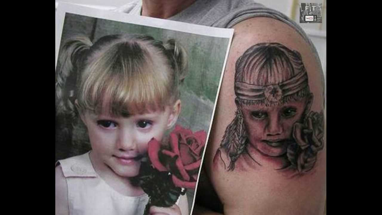 Bad Portrait Tattoo Fixed