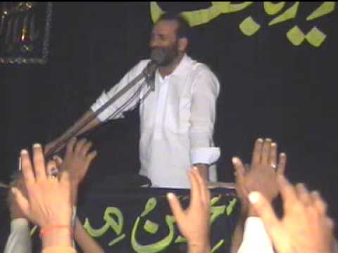 Zakir Syed Zuriat Imran Shah Y Zakir Syed  Amir Abbas Rabbani 07 October 2012 ( Reza E Najaf ) video