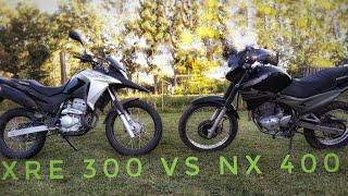 Honda xre 300 VS honda nx 400