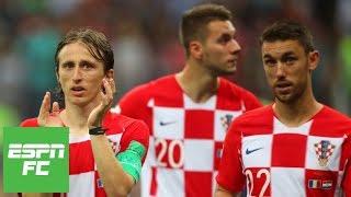 Praising Croatia for their incredible run to 2018 World Cup final | ESPN FC
