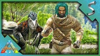 UPGRADING THE RAFT + SEARCHING HIGH AND LOW FOR METAL! - Ark: Valguero [DLC Gameplay E4]