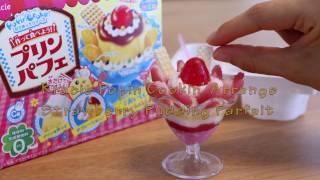 Đồ Chơi Kẹo Nhật - Popin'Cookin' DIY Candy Arrange Strawberry Pudding Parfait