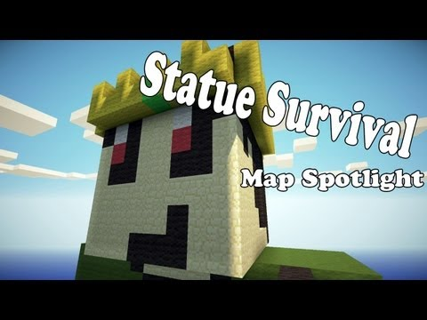 Minecraft Map Spotlight - Statue Survival