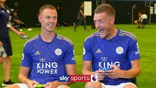 Jamie Vardy vs Jonny Evans   'Who Am I?' Leicester Teammates Quiz
