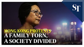 HK protests: A family torn, a society divided | The Straits Times