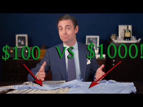 $100 Shirt vs $1000 Shirt Comparison