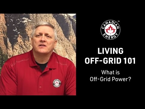 Off-Grid 101 - What is Off-Grid Power?
