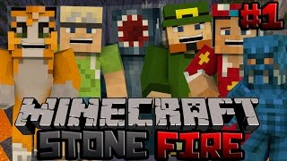 Minecraft Xbox - Stonefire PvP Map - 1 - w/ Stampy, Squid, InTheLittleWood, ChooChoo