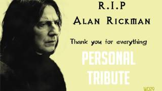 [OFF TOPIC] Alan Rickman-Special Personal Tribute (Halleluja Cover)