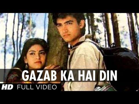 Gazab Ka Hai Din Full HD Song | Qayamat se Qayamat Tak | Aamir...