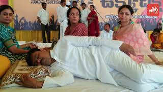 CM Ramesh and B Tech Ravi Health Deteriorates | 6th Day | Kadapa Steel Plant