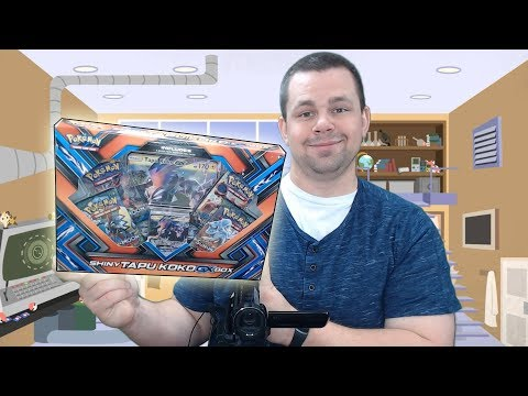 Opening a Shiny Tapu Koko GX Box of Pokemon Cards!