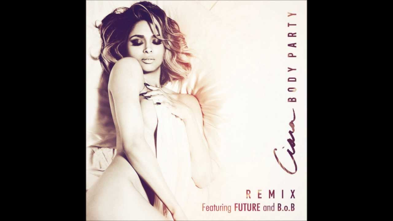 Ciara body party album cover