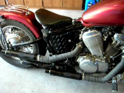 freerider red bobber honda shadow 600 vlx youtube. Black Bedroom Furniture Sets. Home Design Ideas