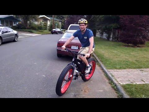 Electric Fat Bike 3000W MXUS Hub Motor INSANE TORQUE! - Purchase our ...
