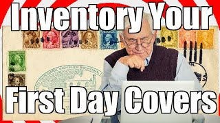 StampManage Stamp Software - Inventory Your First Day Cover (FDC)
