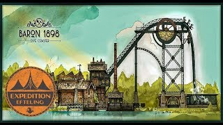 The History Of Baron 1898 - The World's Best Themed Dive Coaster | Expedition Efteling