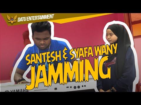 Download Santesh ft Syafa Wany Jamming Lagu Baru Malu-Malu Kucing Mp4 baru