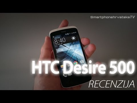 HTC Desire 500 video recenzija - SmartphoneHrvatska