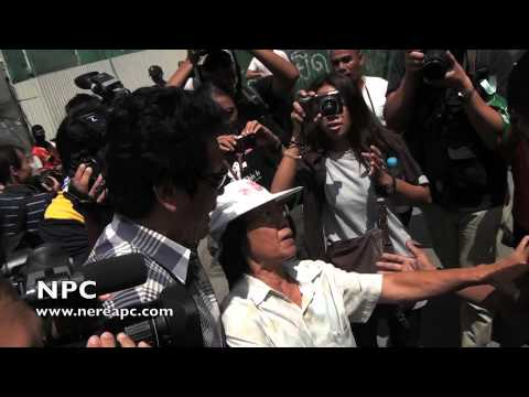 Thailand Police arrest a Anti coup protester 01.06.2014