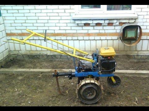 Homemade walk-behind tractor