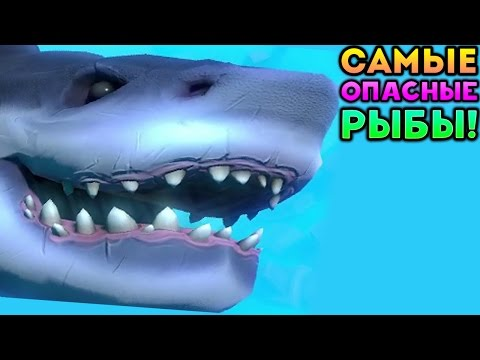 САМЫЕ ОПАСНЫЕ РЫБЫ! - Feed and Grow Fish