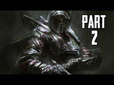 Dark Souls 2 Gameplay Walkthrough Part 2 - First Boss Encounter (DS2)