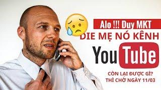 Kiếm Tiền Youtube 2019 Ngày Buồn Của Nhiều Youtuber | Duy MKT