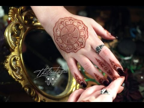 Simple Mandala mehndi design/Мехенди Мандала