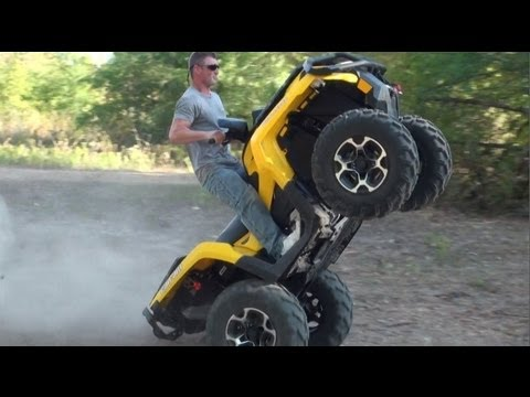 NEW!! 2012 CAN AM OUTLANDER 1000 XT - WHEELIES, HILLS & HI SPEED!!